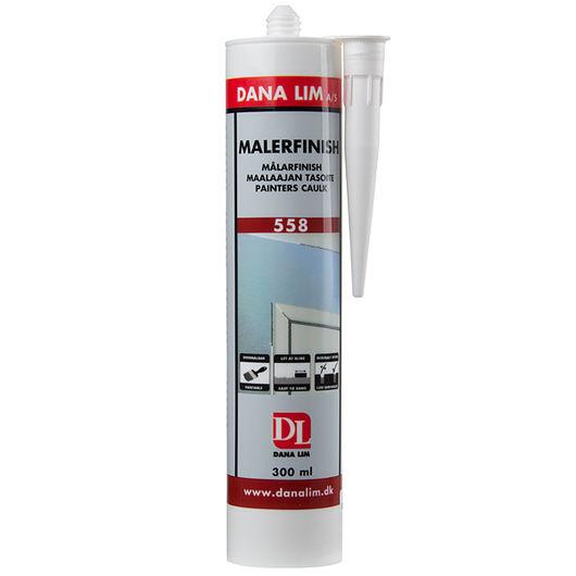 DANA LIM - Malerfinish hvid 300 ml