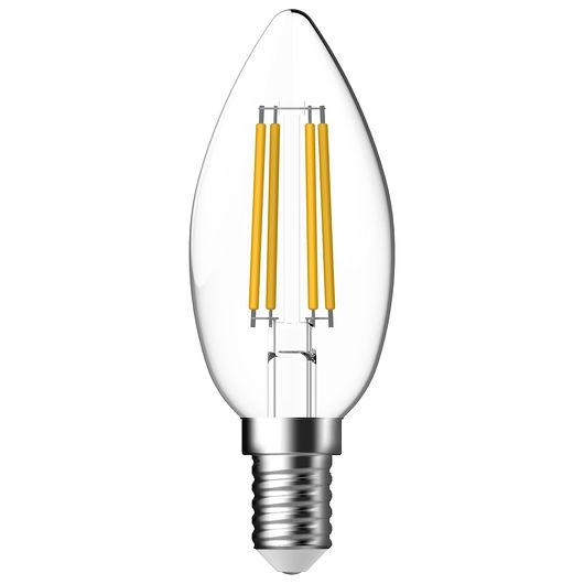 Cosna LED-pære 4,8W E14 C35 filament dæmpbar