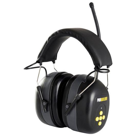 Høreværn med stereo radio