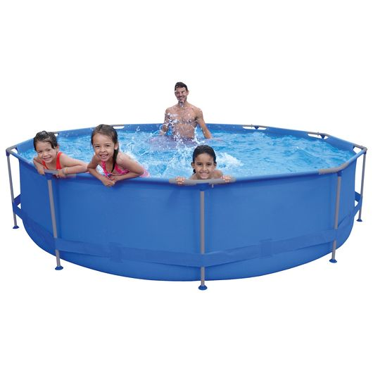 Avenli - Pool med stålramme 6.125 liter