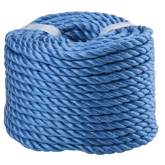 Polyreb 6 mm 20 m - blå