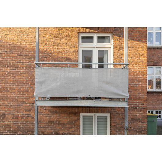 Altan afskærmning 0,75 x 6 meter - grå