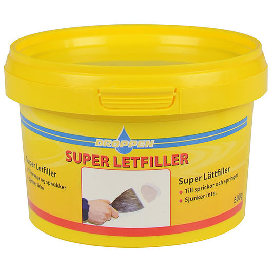 Droppen super letfiller 500 g