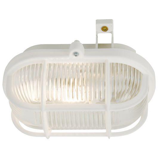 Nordlux - Skotlampe oval - hvid