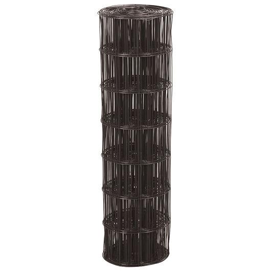 Rancho - Havehegn 110 cm sort plastbelagt