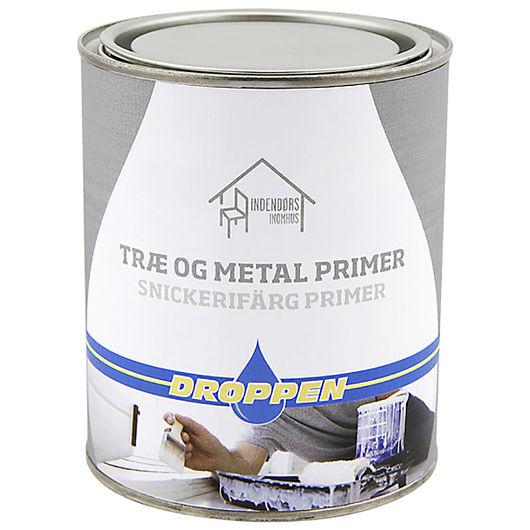 Droppen træ- og metal primer 0,75 L