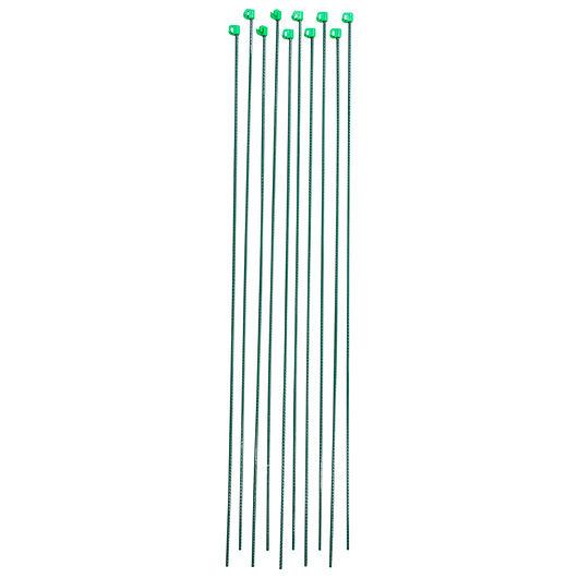Hegnspæl 145 x 0,8 cm grøn - 10-pak