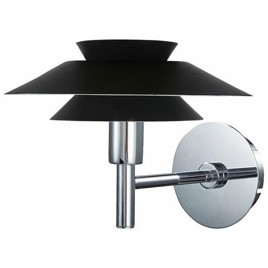 BRIGHT DESIGN - Væglampe Genoa G9 Ø.20cm - sort
