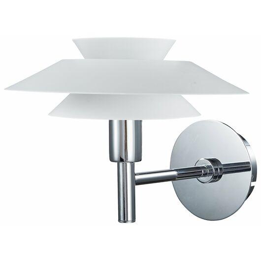 BRIGHT DESIGN - Væglampe Genoa G9 Ø.20 cm - hvid