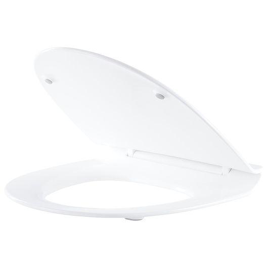 Carlsbad - Toiletsæde Sign slimline softclose-hvid