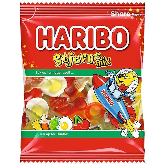 Haribo Stjerne Mix - 120 g