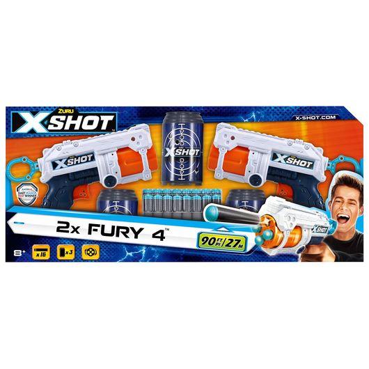 X-Shot - Fury4 med 3 målskiver