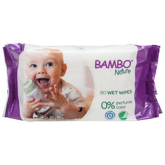 BAMBO Nature - Vådservietter 80-pak