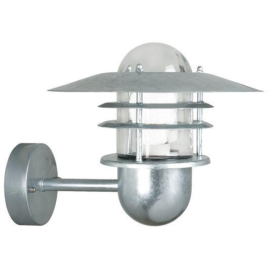 Nordlux - Væglampe Agger - galvaniseret