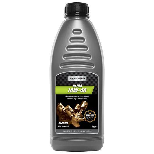 BRANFORD - Motorolie 10W-40 semisyntetisk 1 liter