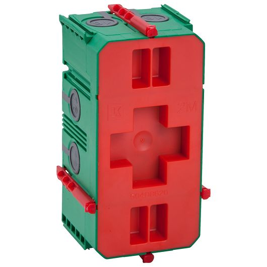 FUGA AIR indmuringsdåse 2 modul