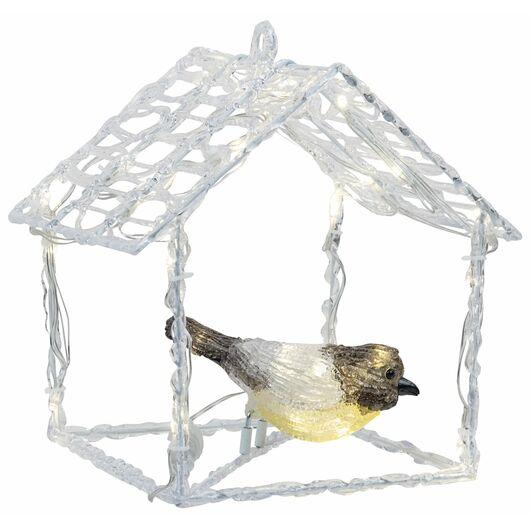 Nowel - Fuglehus med fugl - gul