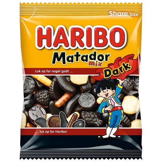 Haribo Matador Dark Mix - 120 g