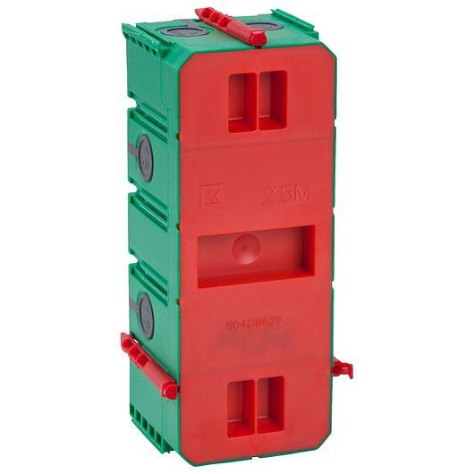 FUGA AIR indmuringsdåse 2 ½ modul
