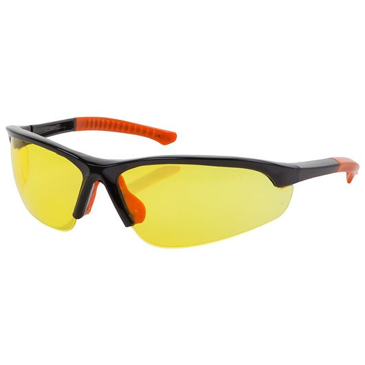 Sikkerhedsbrille med gult glas