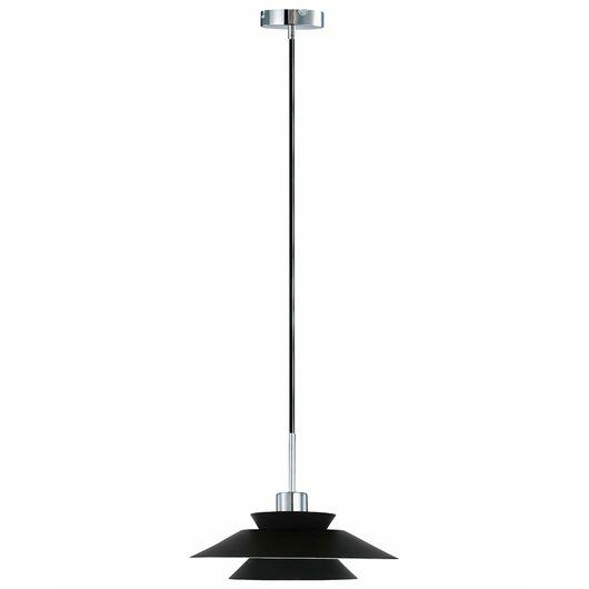 BRIGHT DESIGN - Pendel Genoa E27 Ø. 40cm - sort