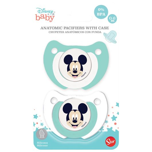 Sut - Mickey Mouse 0-6 mdr. 2-pak