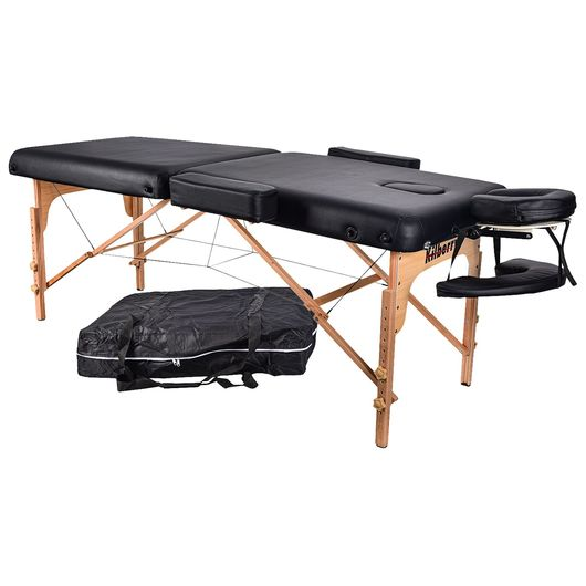 Massagebriks med PU-hynde