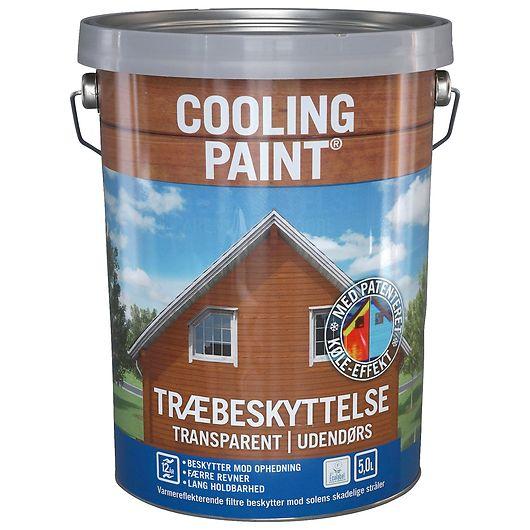 Coolingpaint transpararent sort 5 L