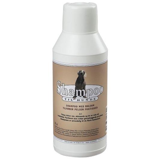 Hundeshampoo med balsam