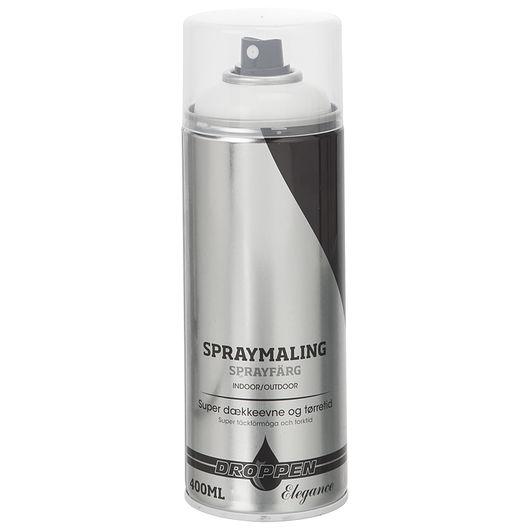Droppen spray hvid blank