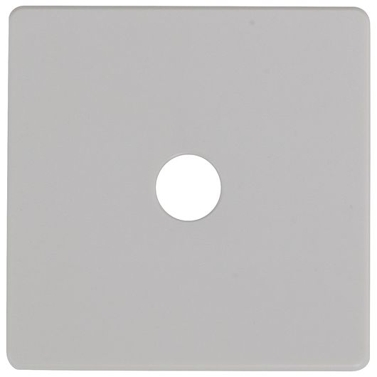 Dæksel lampeudtag grå