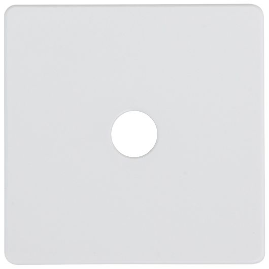 Dæksel lampeudtag 45 x 45 mm - 5 poler hvid
