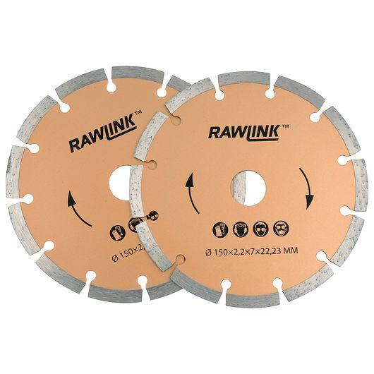 Rawlink - Diamantklingesæt til murrillefræser
