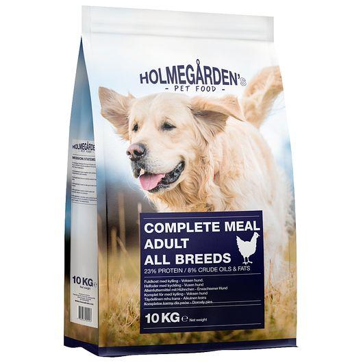 Hundefoder med kylling voksen - 10 kg