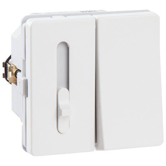 FUGA skydelysdæmper LED hvid
