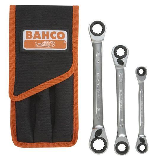 Bahco - Ring-skraldesæt 3 dele