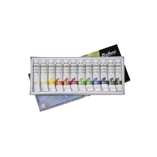 Akrylfarvesæt 12 x 12 ml