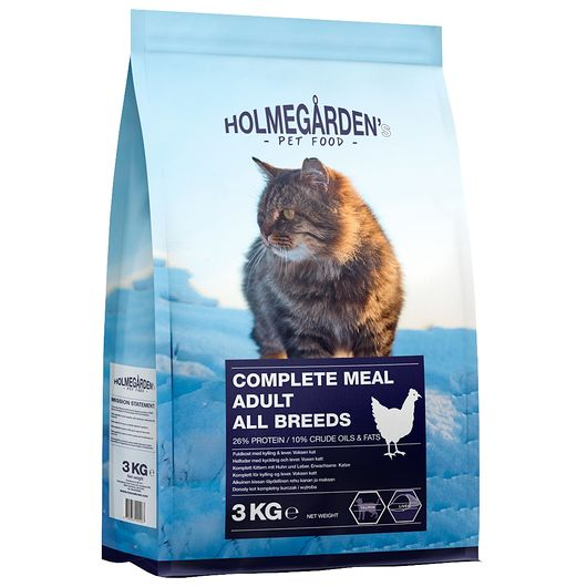 Kattefoder med kylling - 3 kg