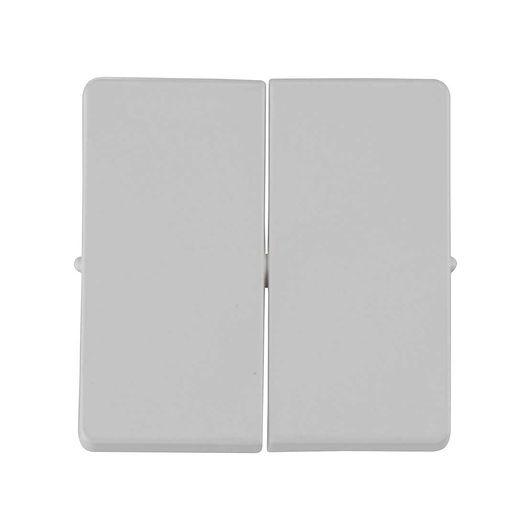 FUGA tangent afbryder dobbelt grå