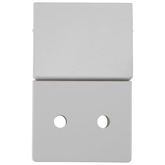 LK FUGA - Tangent stikkontakt 1½ modul grå