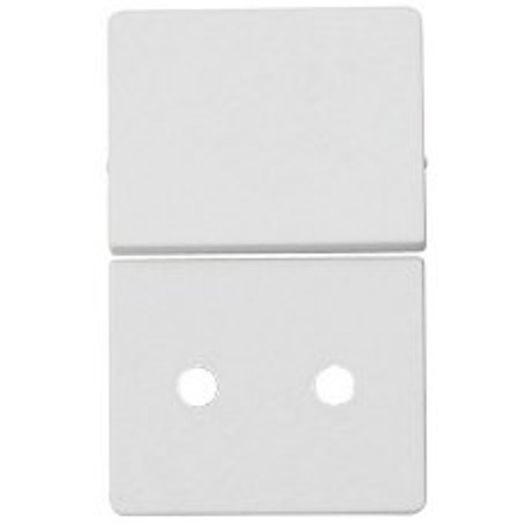 LK FUGA - Tangent stikkontakt 1½ modul hvid