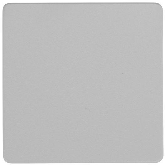 FUGA blænddæksel tangent 1 modul grå