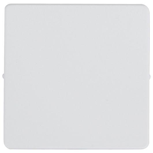 FUGA blænddæksel tangent 1 modul hvid