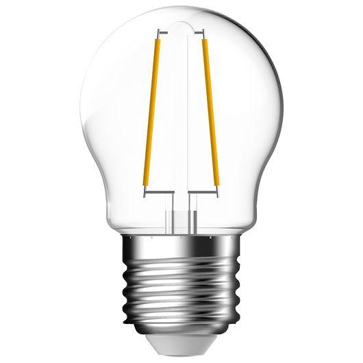 Cosna LED-pære 4,8W E27 G45 filament dæmbar