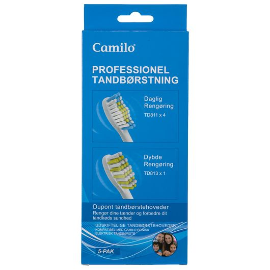 Camilo tandbørstehoved 5 stk.