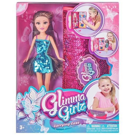 Glimma Girlz dukke med paillettaske