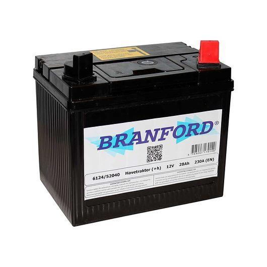 BRANFORD - Traktorbatteri 28 Ah +højre
