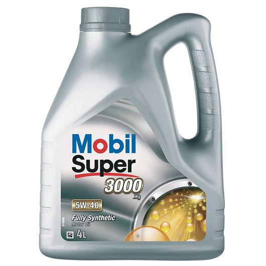Mobil SUPER3000 5W-40 fuldsyntetisk - 4 liter