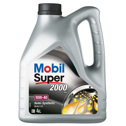 Mobil Super2000 10W-40 semisyntetisk - 4 liter