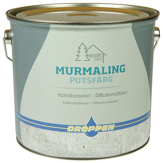 Droppen murmaling grå - 4 L